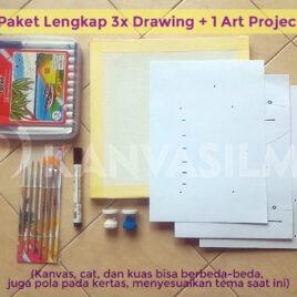 Basic Drawing Paket Lengkap (7-9thn)