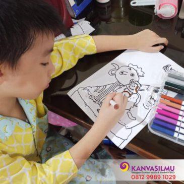 Kelas Gambar Online 4-6 Tahun (Fun Drawing)