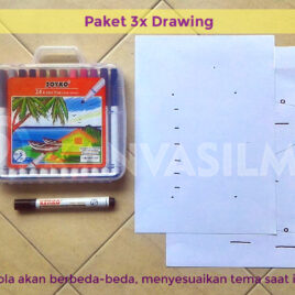 Regular Drawing 3x (10-12thn)